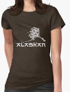AK1 ALASKAN Womens Fitted T-Shirt
