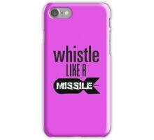 Whistle like a Missile  BlackPink iPhone Case/Skin