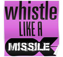 Whistle like a Missile  BlackPink Poster
