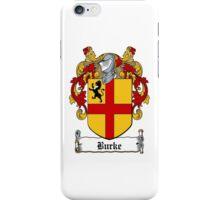 Burke (Earls of Ulster) iPhone Case/Skin