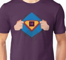 Superdesigner! — InDesign version Unisex T-Shirt
