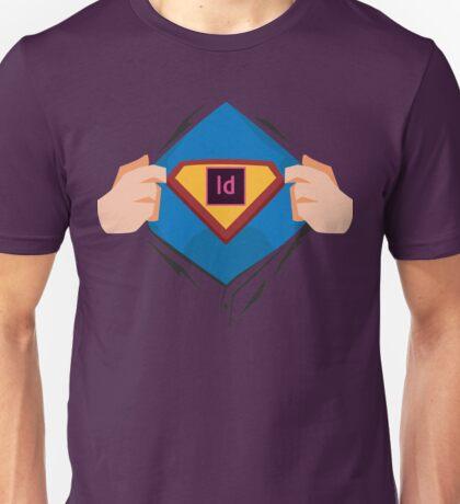 Superdesigner! — InDesign version Unisex T-Shirt