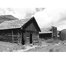 Ashcroft Ghost Town Photographic Print