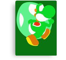 Super Smash Bros Yoshi Canvas Print