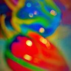 Dreamy peppers abstract by ?? B. Randi Bailey