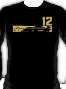 Ayrton Senna's 1986 Lotus 98T T-Shirt