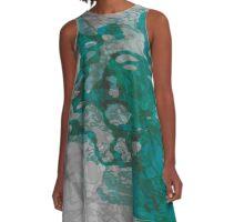 20160929 green oblivion no. 5 A-Line Dress