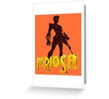 Imperator Furiosa - Mad Max Greeting Card