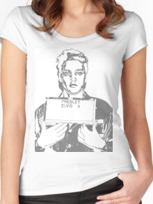 Jailhouse Rock Women's Fitted Scoop T-Shirt