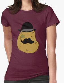 Sir Spiffy Spud Womens Fitted T-Shirt