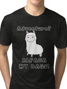 Alpaca Pun Tri-blend T-Shirt