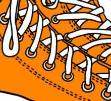 Orange Converse Sticker