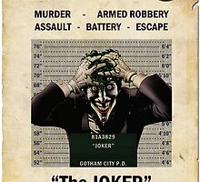 Joker - Gotham's Most Wanted by ianscott76