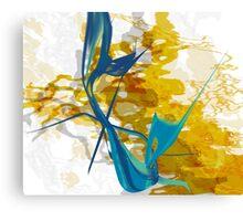 20160929 orange blue oblivion no. 7 Canvas Print