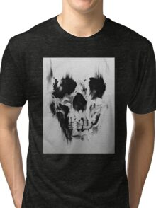 Another skull optic illusion Tri-blend T-Shirt
