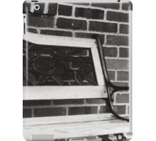 The Long Forgotten Bench iPad Case/Skin