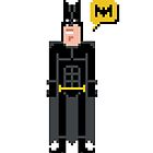 Pixel Batman by Sergey Vozika