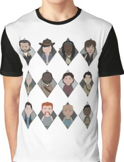 The Walking Dead: Squad Goals Graphic T-Shirt