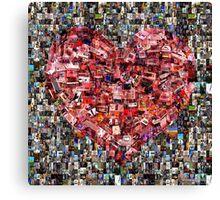 Heart of a Gamer Canvas Print