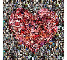 Heart of a Gamer Photographic Print