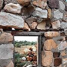 Ruined window, Ruined view by George Petrovsky