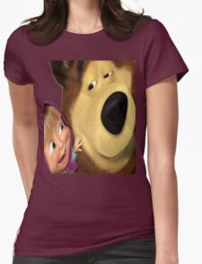 marsha and orso 1 Womens Fitted T-Shirt