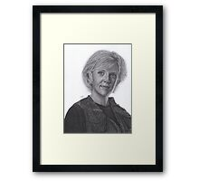 Sam Carter Framed Print