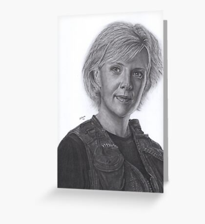 Sam Carter Greeting Card