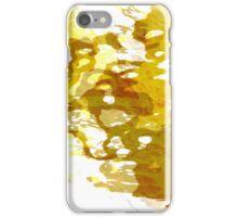 20160929 orange blue oblivion no. 8 iPhone Case/Skin