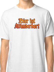 Vintage Classic Bier Ist Wunderbar! Beer Is Wonderful! Classic T-Shirt