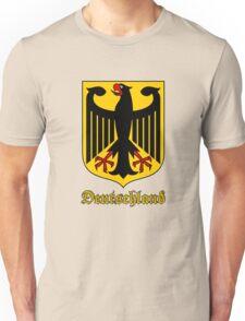 Classic Vintage Deutschland Germany Crest Unisex T-Shirt