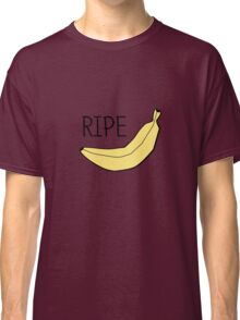 Pattern with bananas and lemons Classic T-Shirt
