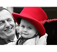 Hat's off to Him. Photographic Print