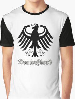 Vintage Classic Deutschland Germany Crest Graphic T-Shirt