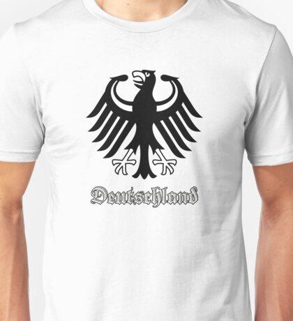 Vintage Classic Deutschland Germany Crest Unisex T-Shirt
