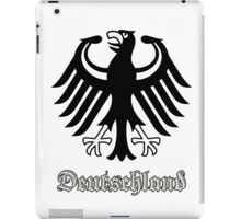 Vintage Classic Deutschland Germany Crest iPad Case/Skin