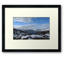 Scottish Mountains and Lochs Framed Print