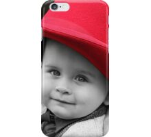 Hat's off to Him. iPhone Case/Skin