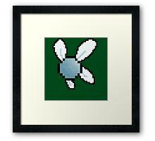 Navi Pixelated  Framed Print