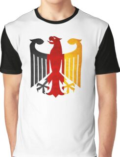 Classic Vintage Germany Flag Crest Graphic T-Shirt
