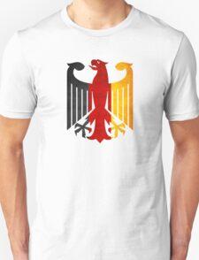 Classic Vintage Germany Flag Crest Unisex T-Shirt