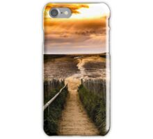 Holkham beach iPhone Case/Skin
