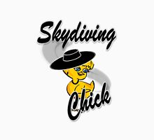 Skydiving Chick #4 Unisex T-Shirt