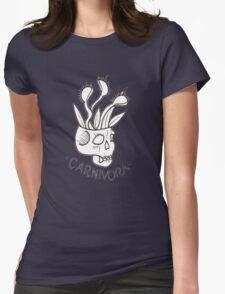 Carnivorous plant Womens Fitted T-Shirt