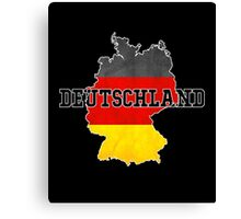 Vintage Classic Deutschland Germany Flag Country Canvas Print