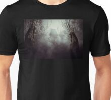 Spooky Witch House in Mist Unisex T-Shirt