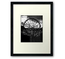 Darktree Framed Print