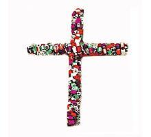 Colorful Cross of Faith Photographic Print