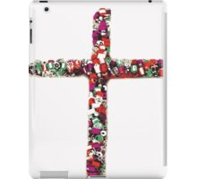Colorful Cross of Faith iPad Case/Skin