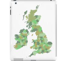 UK and Ireland Map - Green iPad Case/Skin